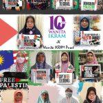 Wanita IKRAM menyokong Palestin