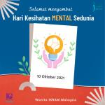Selamat Hari Kesihatan Mental Sedunia